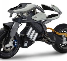 YAMAHA MOTOROiD มอเตอร์ไซค์พลังงานไฟฟ้าขับเคลื่อนอัตโนมัติใช้ระบบปัญญาประดิษฐ์ AI