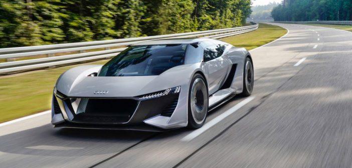 Audi PB18 e-tron concept car