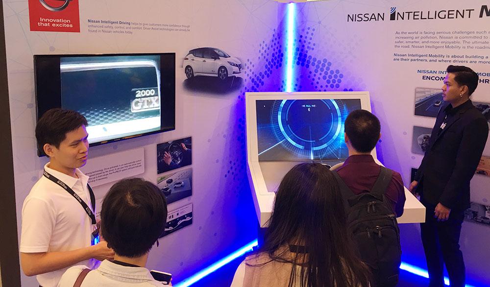 ระบบจำลองการขับรถยนต์พลังงานไฟฟ้า Nissan