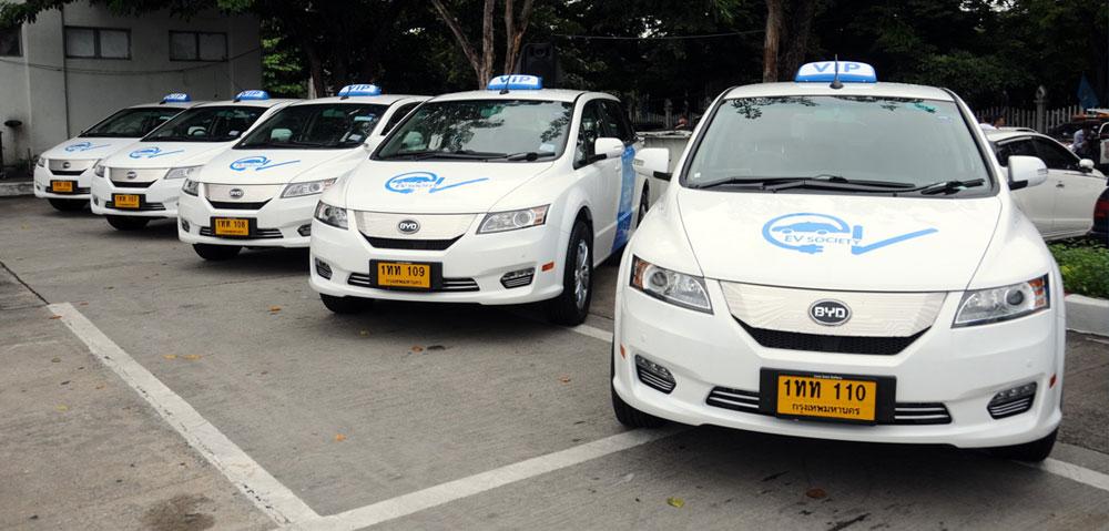 Electric EV Taxi VIP