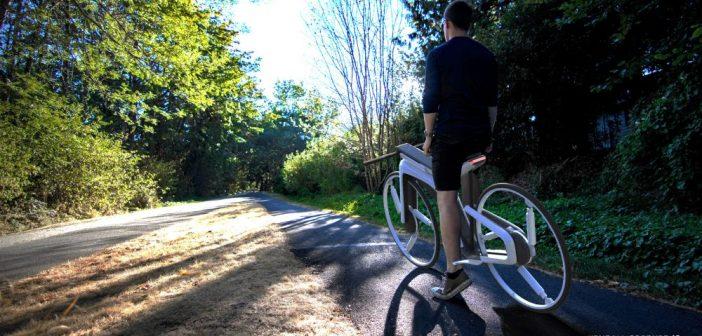 แนวคิดการออกแบบจักรยานไฟฟ้าจาก Kendall Toerner