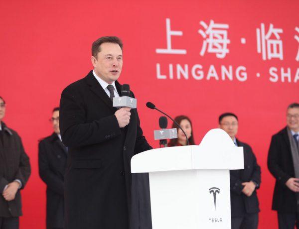 อีลอน มัสก์เดินทางไปประเทศจีนร่วมเปิดตัวโครงการก่อสร้างโรงงาน Tesla Gigafactory 3 เมืองเซี่ยงไฮ้